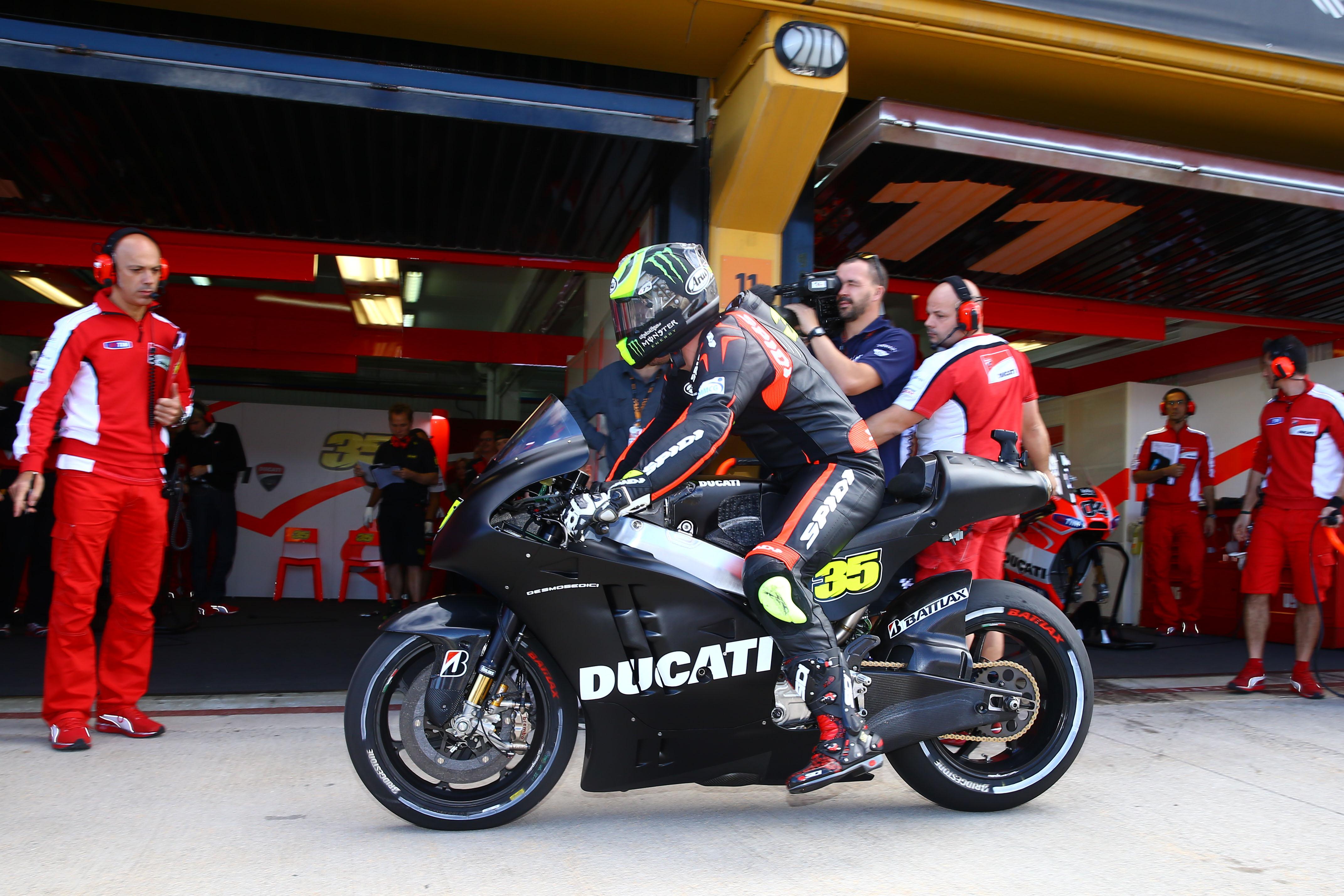Crutchlow's Ducati debut
