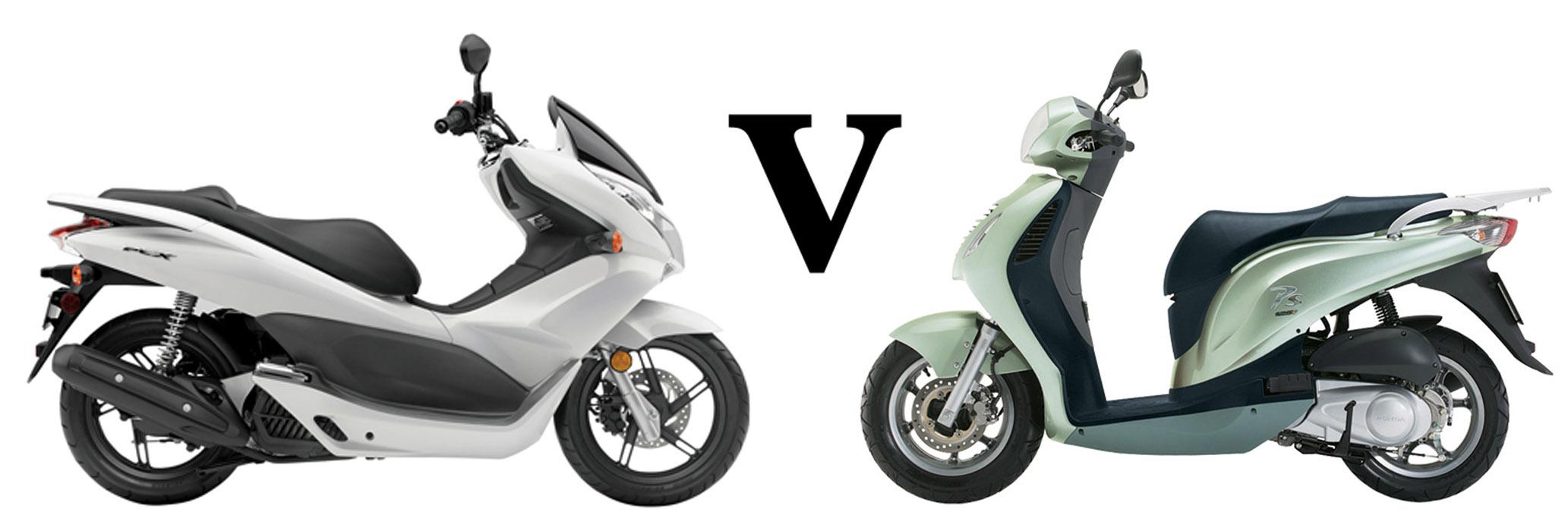 Versus: Honda PCX125 vs Honda PS125i