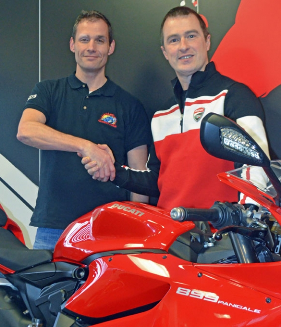 California Superbike School joins forces with Ducati