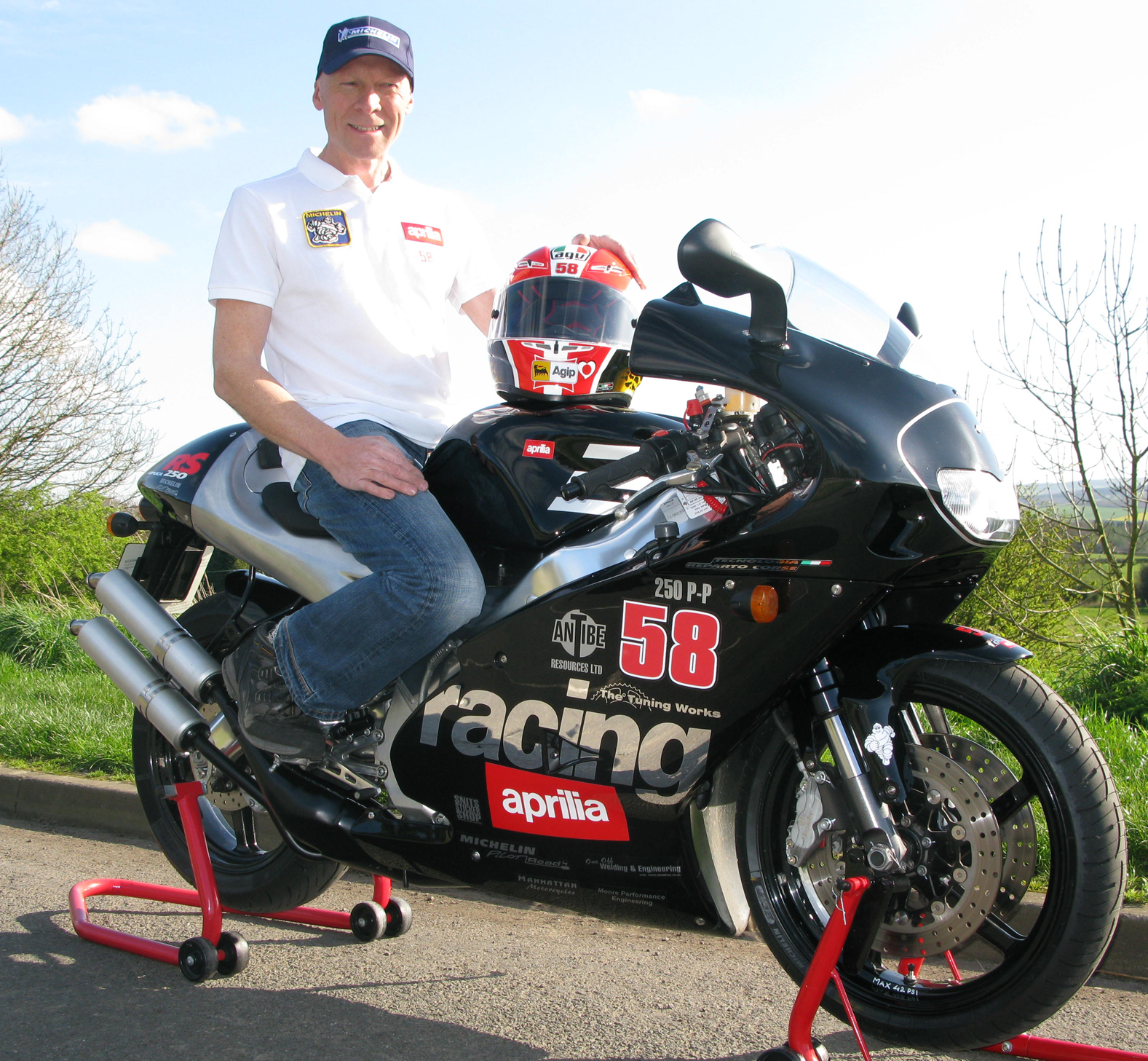 British rider attempting to break 250cc land speed record