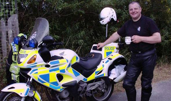 Police motorcyclist gets £6,500 payout for hearing damage