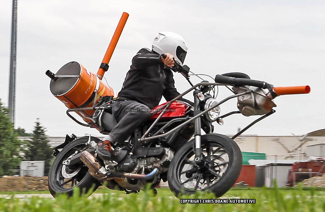 Spy shots: 2015 Ducati Scrambler