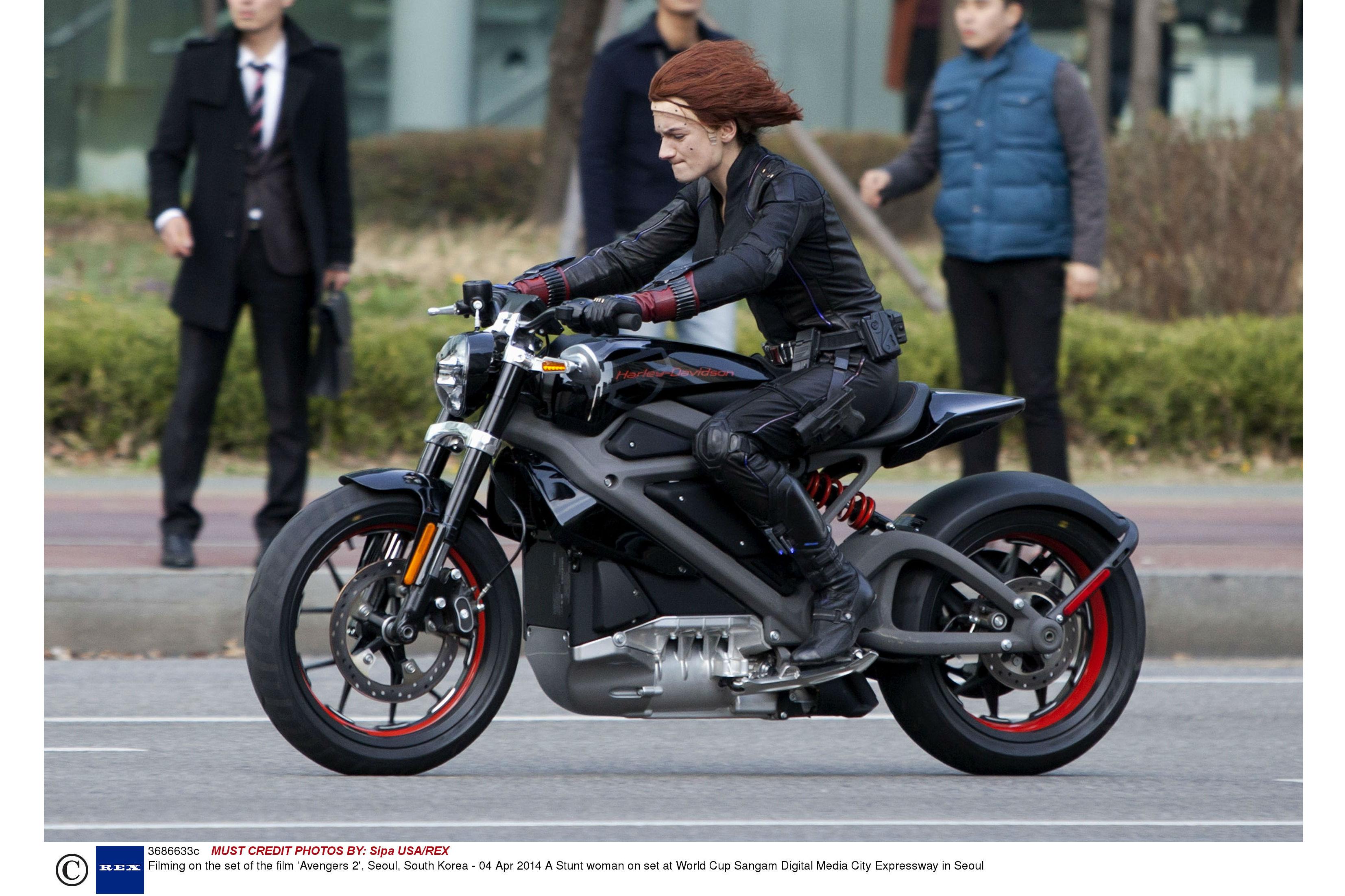 Electric Harley production bike?