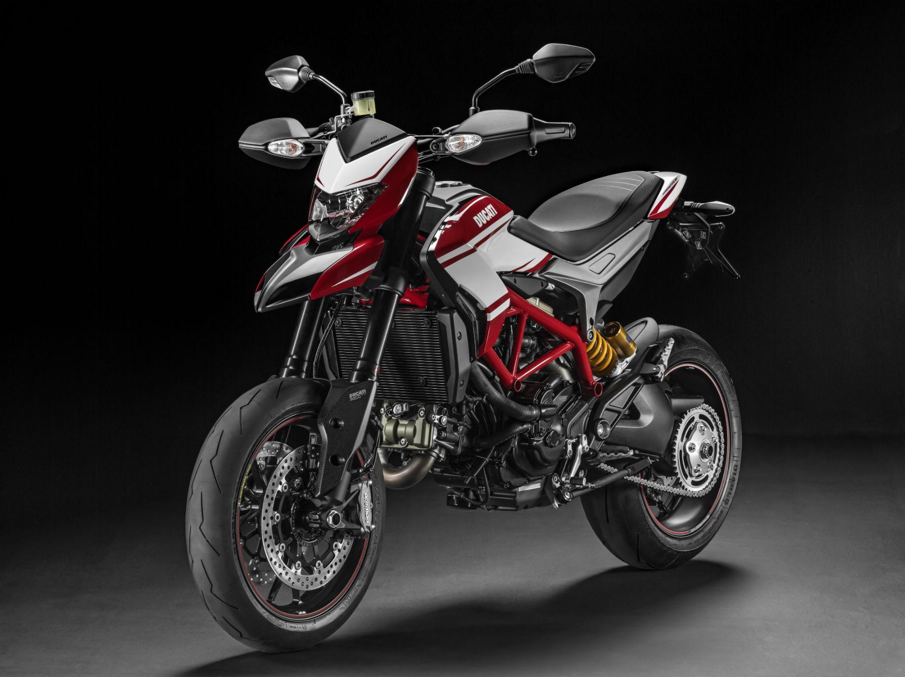 New colour scheme for Ducati Hypermotard SP