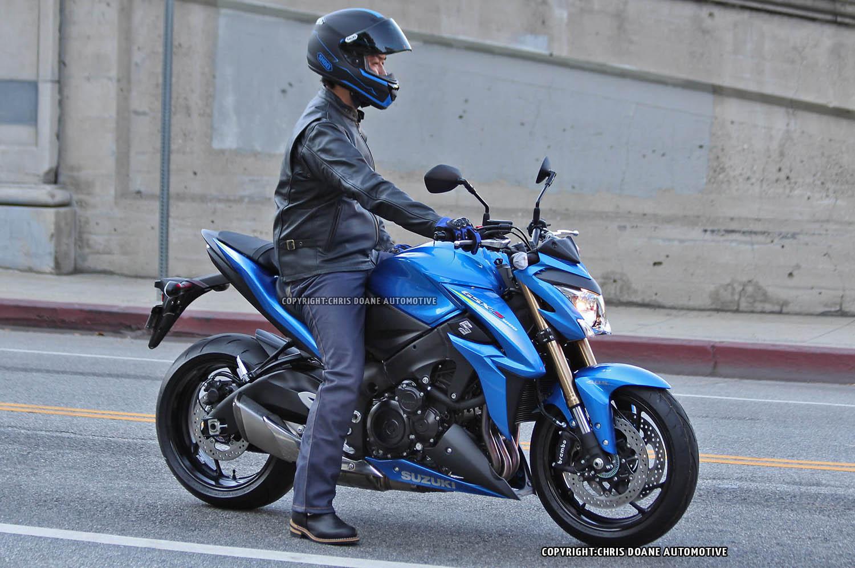 Spied: Naked Suzuki GSX-S1000
