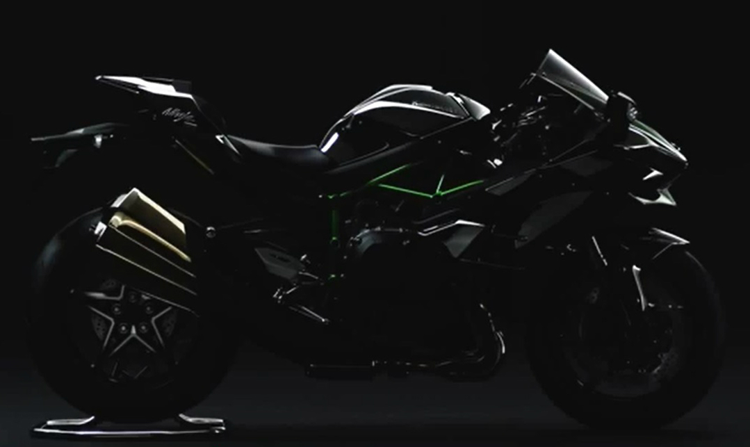 Revealed: street-legal Kawasaki Ninja H2