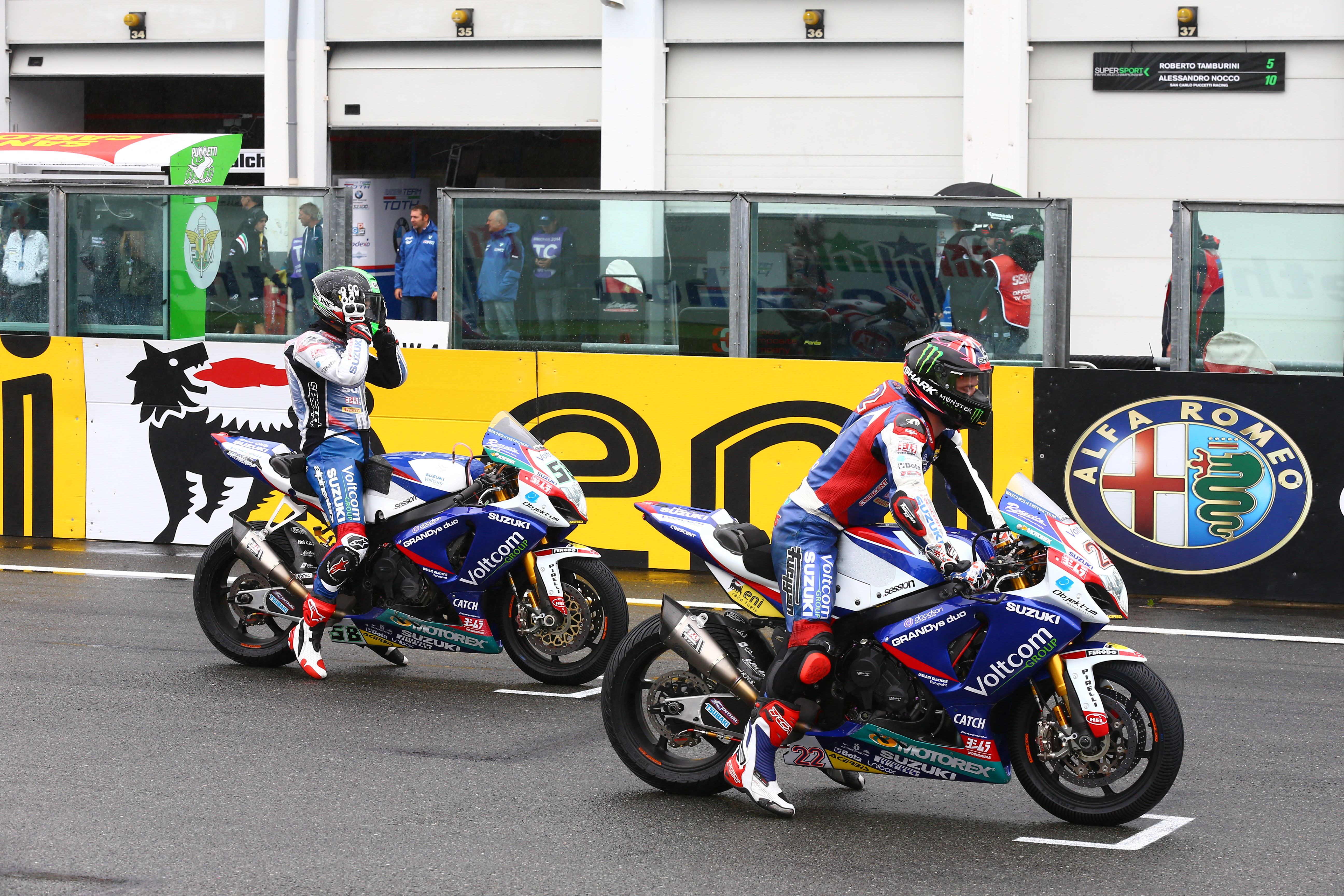 WSB 2014: Magny-Cours race 2 results