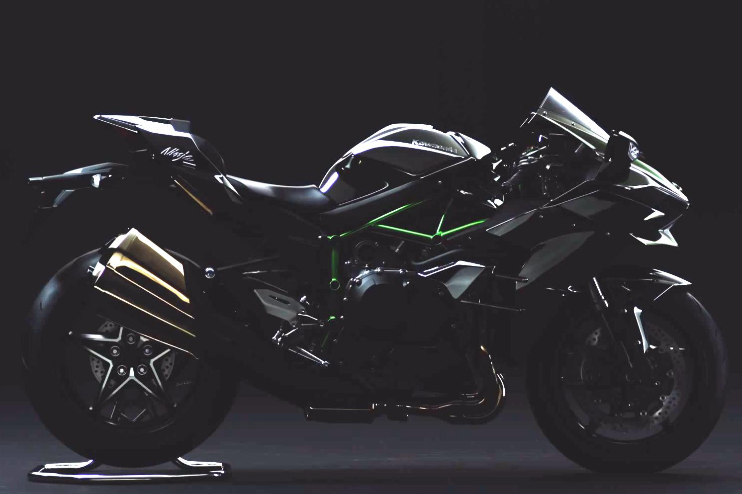Road-legal Kawasaki Ninja H2 revealed