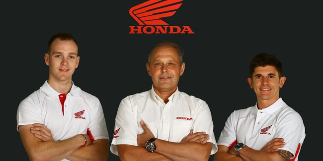 Linfoot and O'Halloran join Honda for BSB 2015