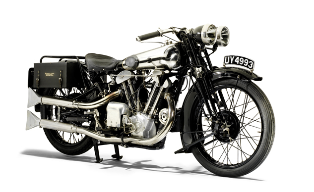 Brough Superior up for auction valued at £320,000