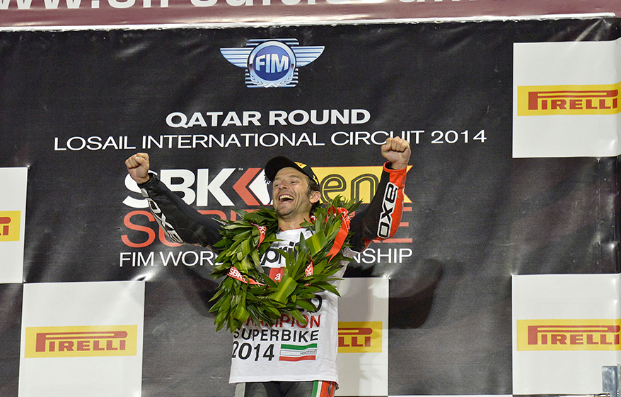 Guintoli crowned 2014 World Superbike Champion