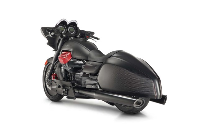 Moto Guzzi MGX-21 Concept at Eicma