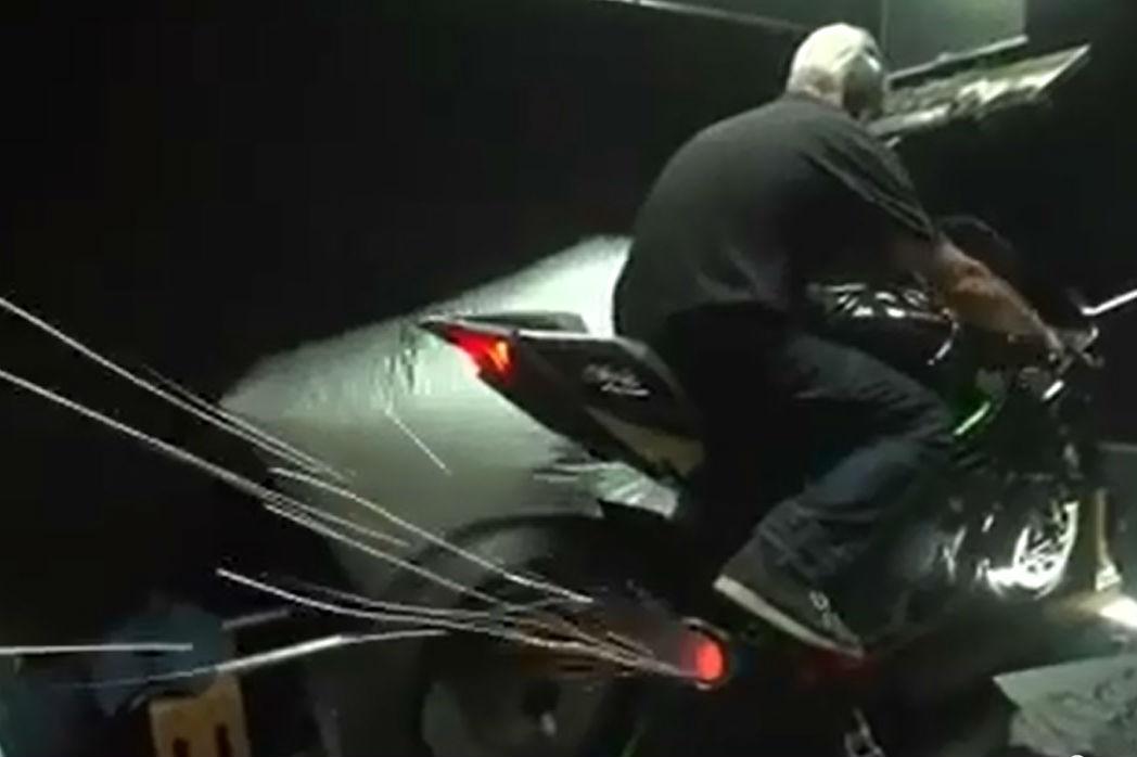 Kawasaki Ninja H2R first dyno run