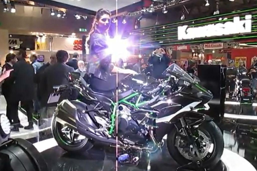 Kawasaki Ninja H2 walk-around