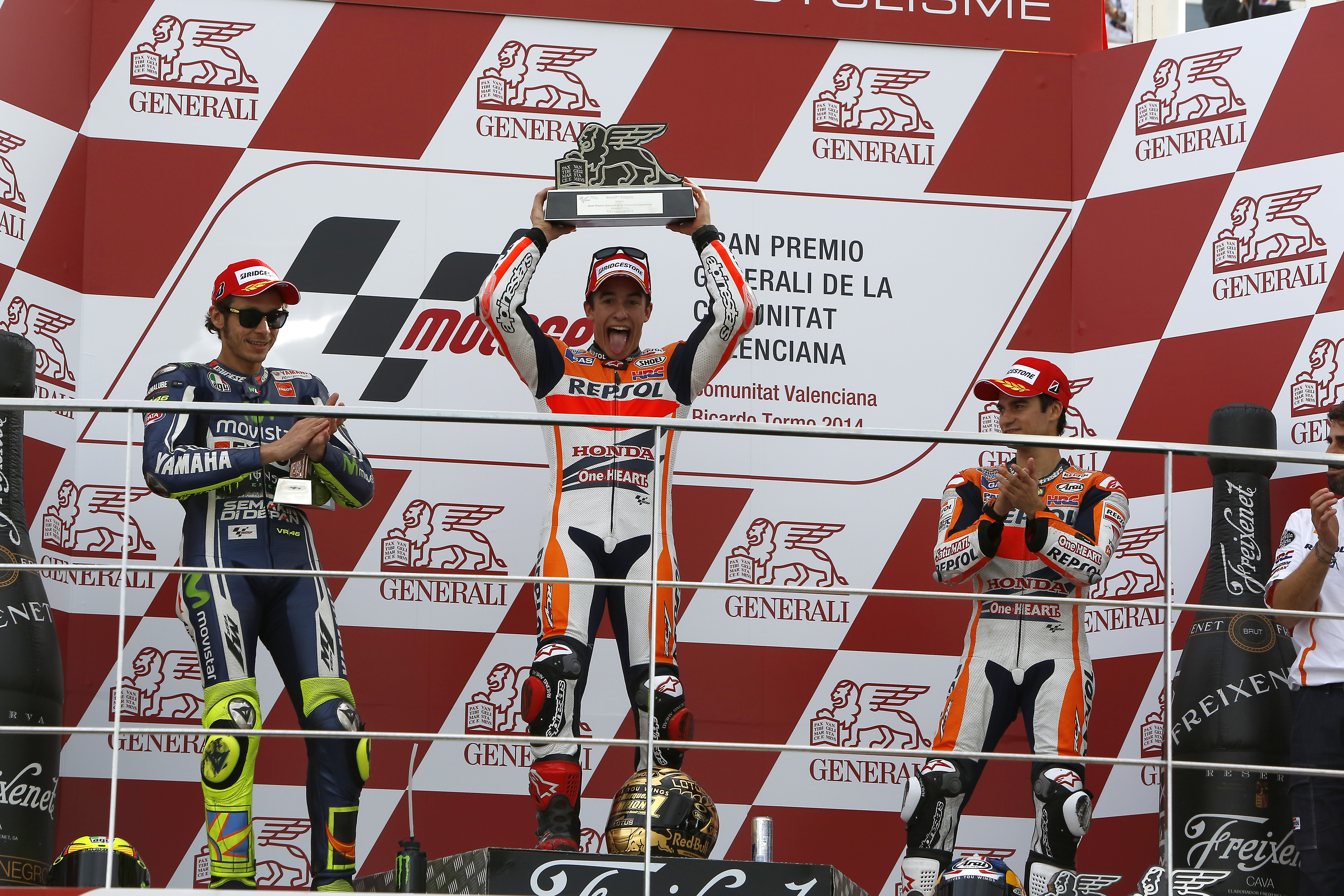 MotoGP 2014: Championship standings after Valencia
