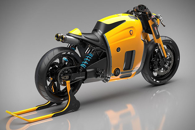 Russian designer draws up Koenigsegg motorcycle concept