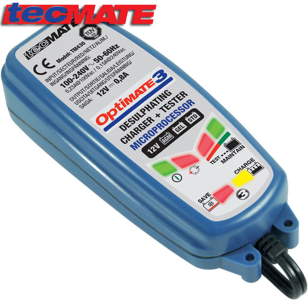 NEW Optimate 3 Universal Battery Charger /& Conditioner 2019
