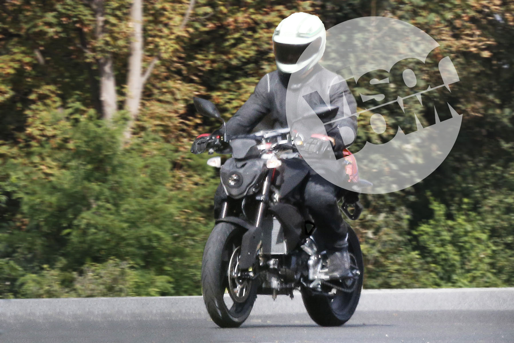 Spy shots: small-capacity naked BMW spied testing