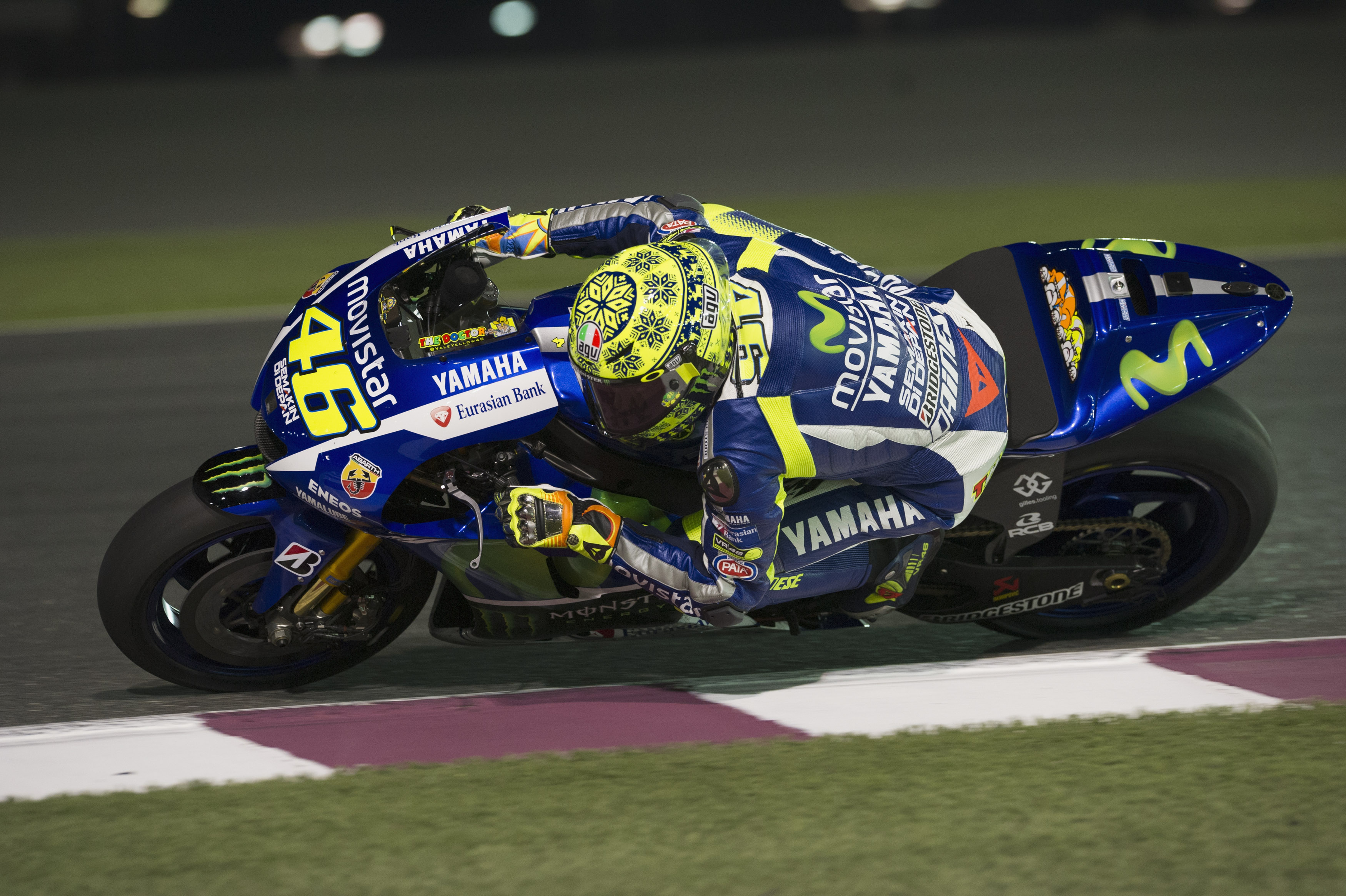 Qatar MotoGP test times - day two