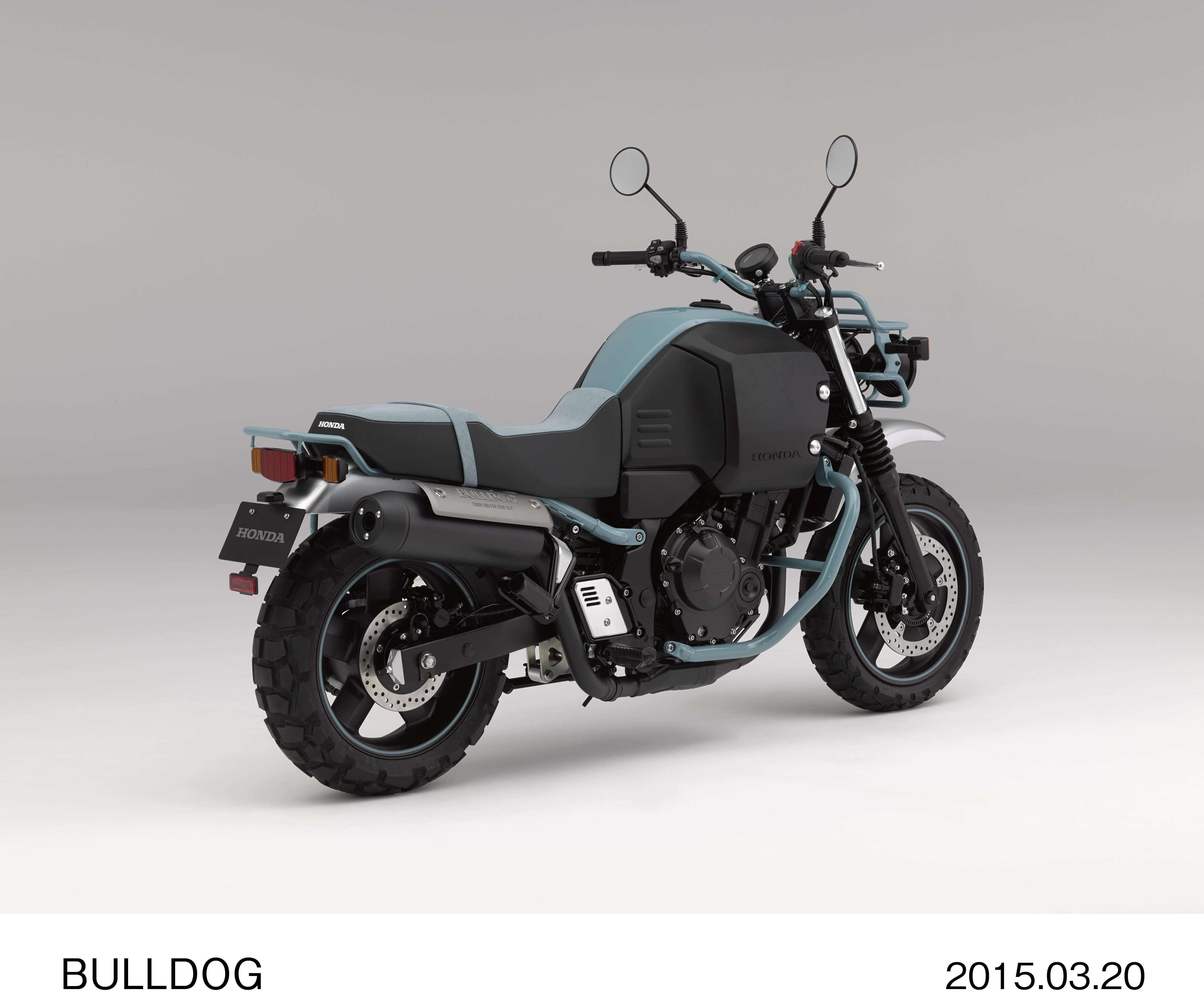 Honda Bulldog revealed