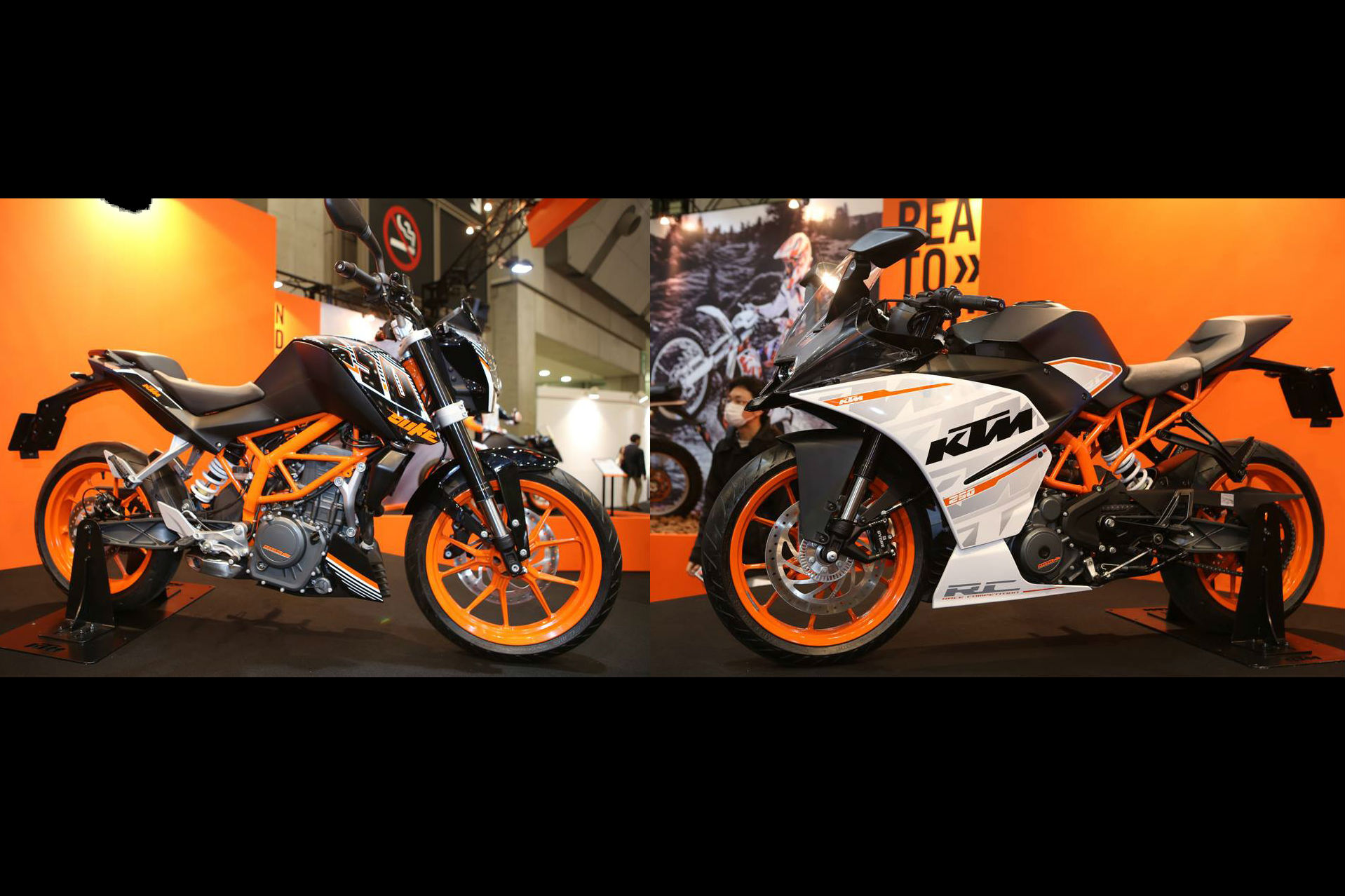 KTM RC250 and Duke 250 revealed