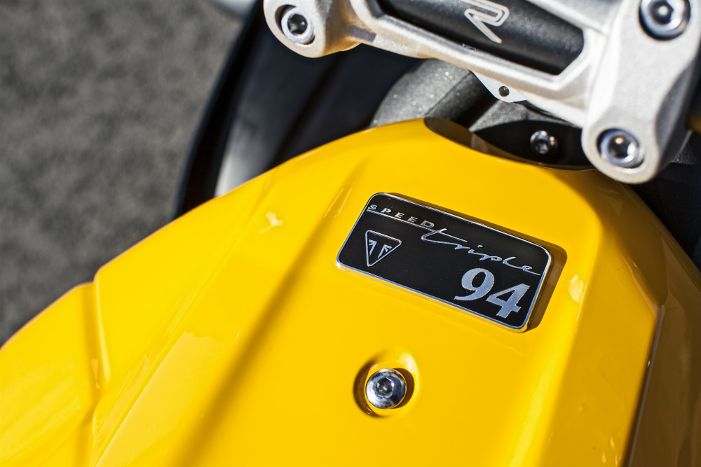 Triumph Speed Triple special editions