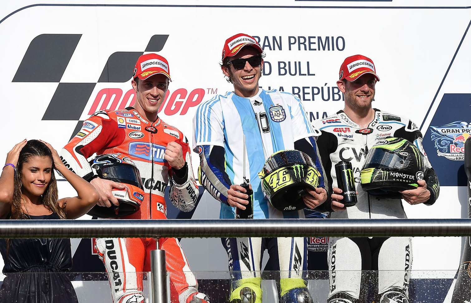 MotoGP 2015: Championship standings after Argentina