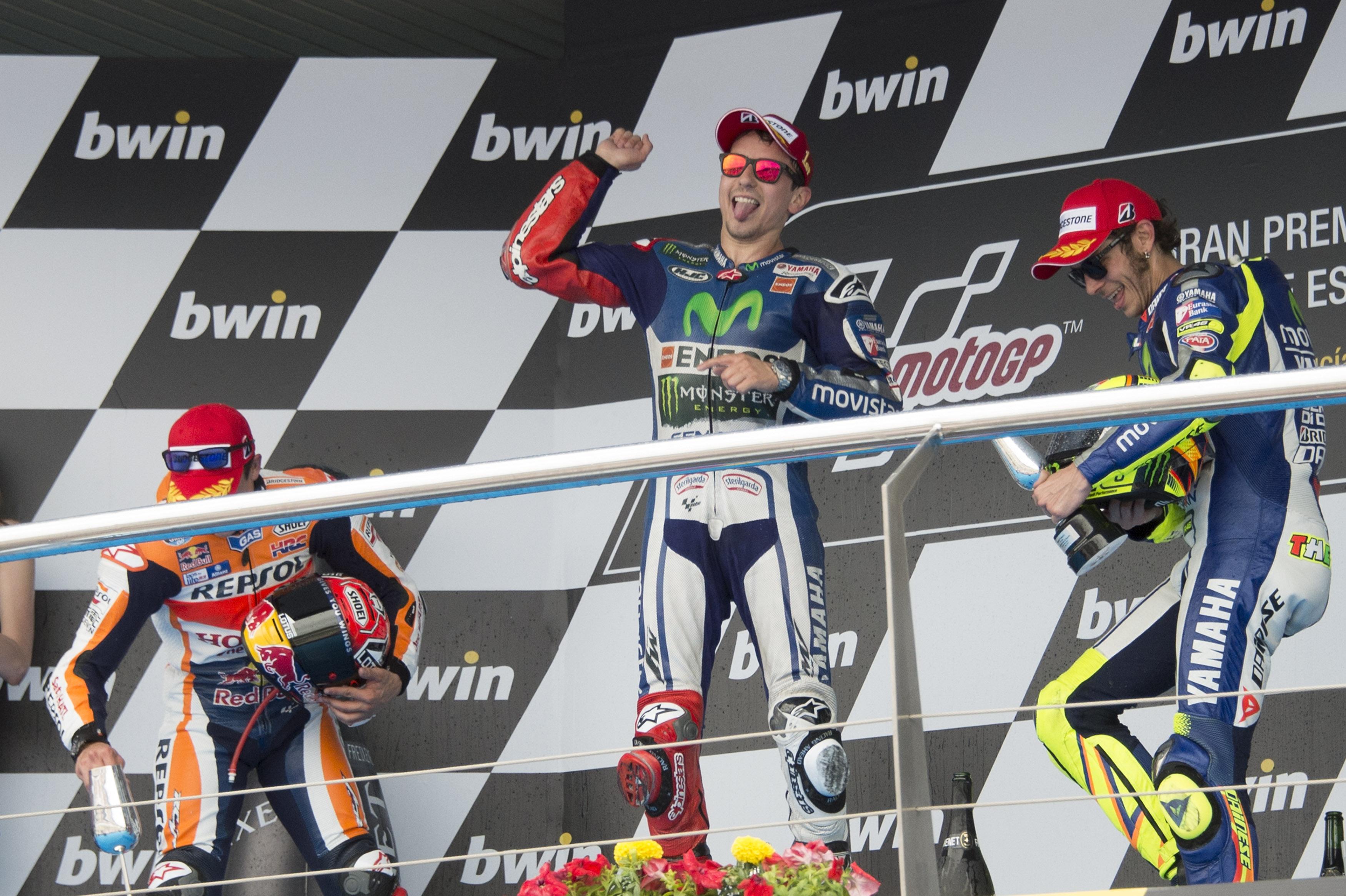 MotoGP 2015: championship standings after Jerez