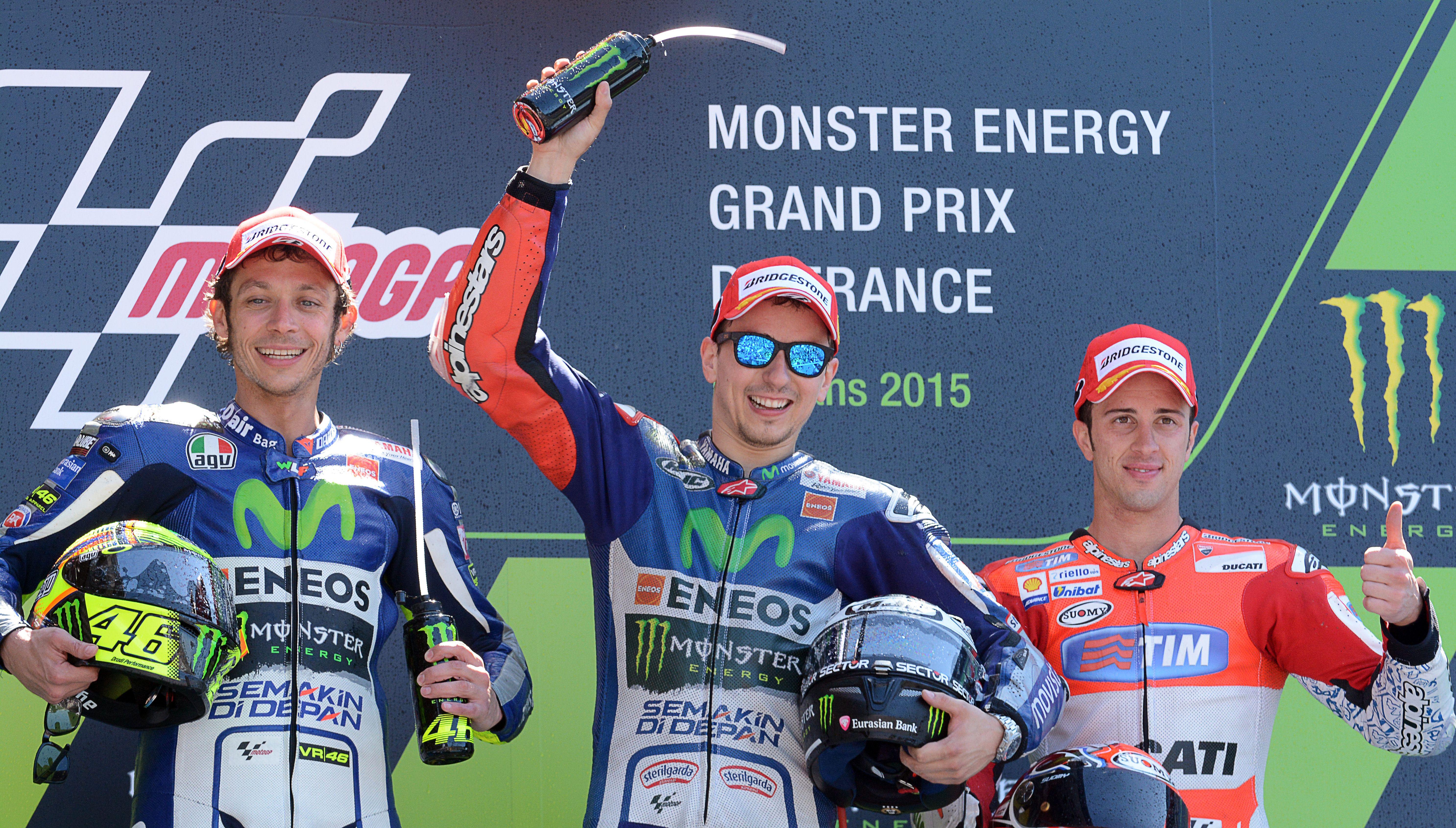 MotoGP 2015: Championship standings after Le Mans