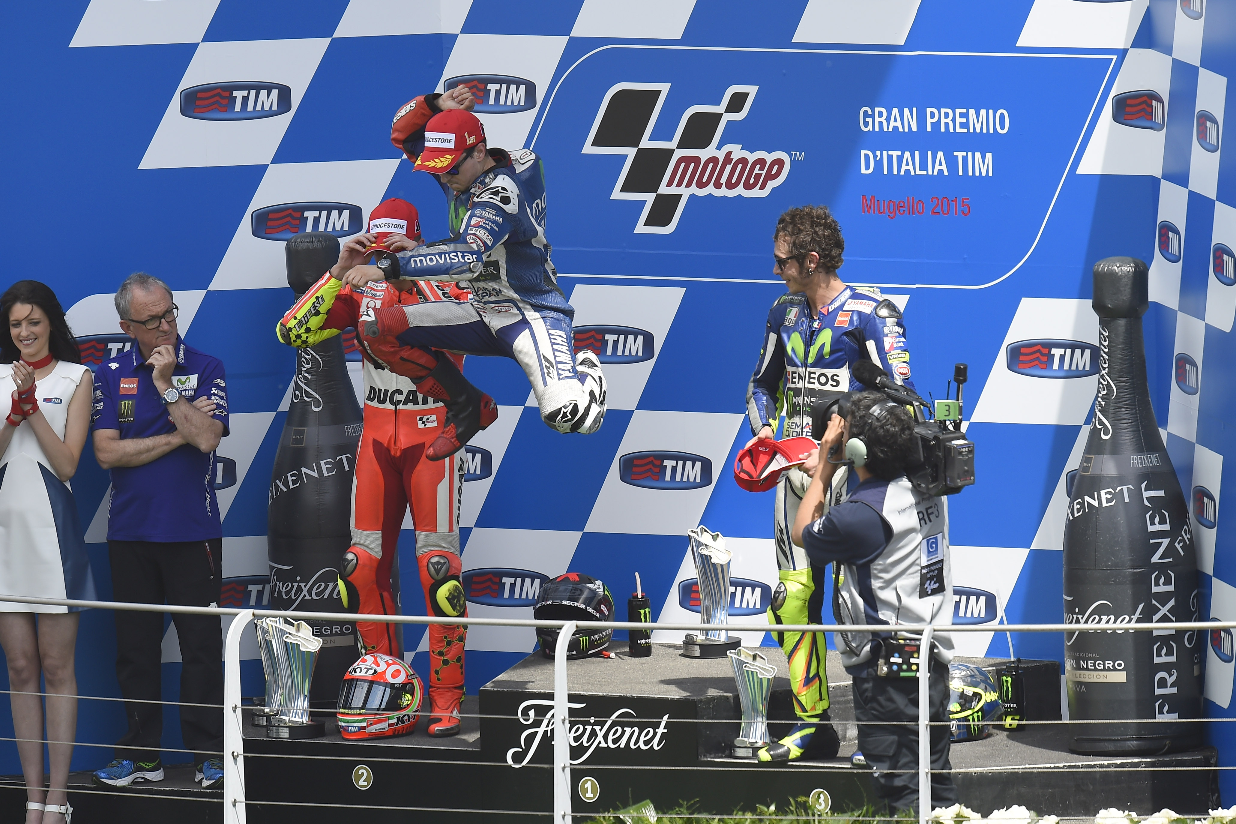 MotoGP 2015: championship standings after Mugello