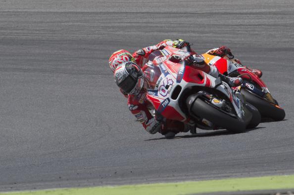 Rear sprocket issue for Dovizioso at Mugello