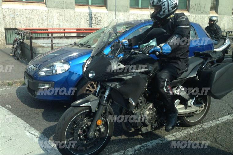 Yamaha MT-07 Tracer revealed