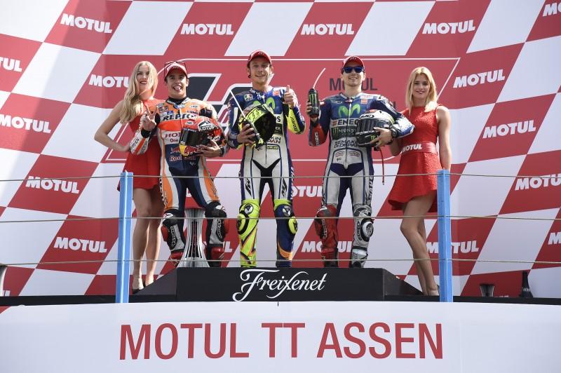 MotoGP 2015: Championship standings after Assen