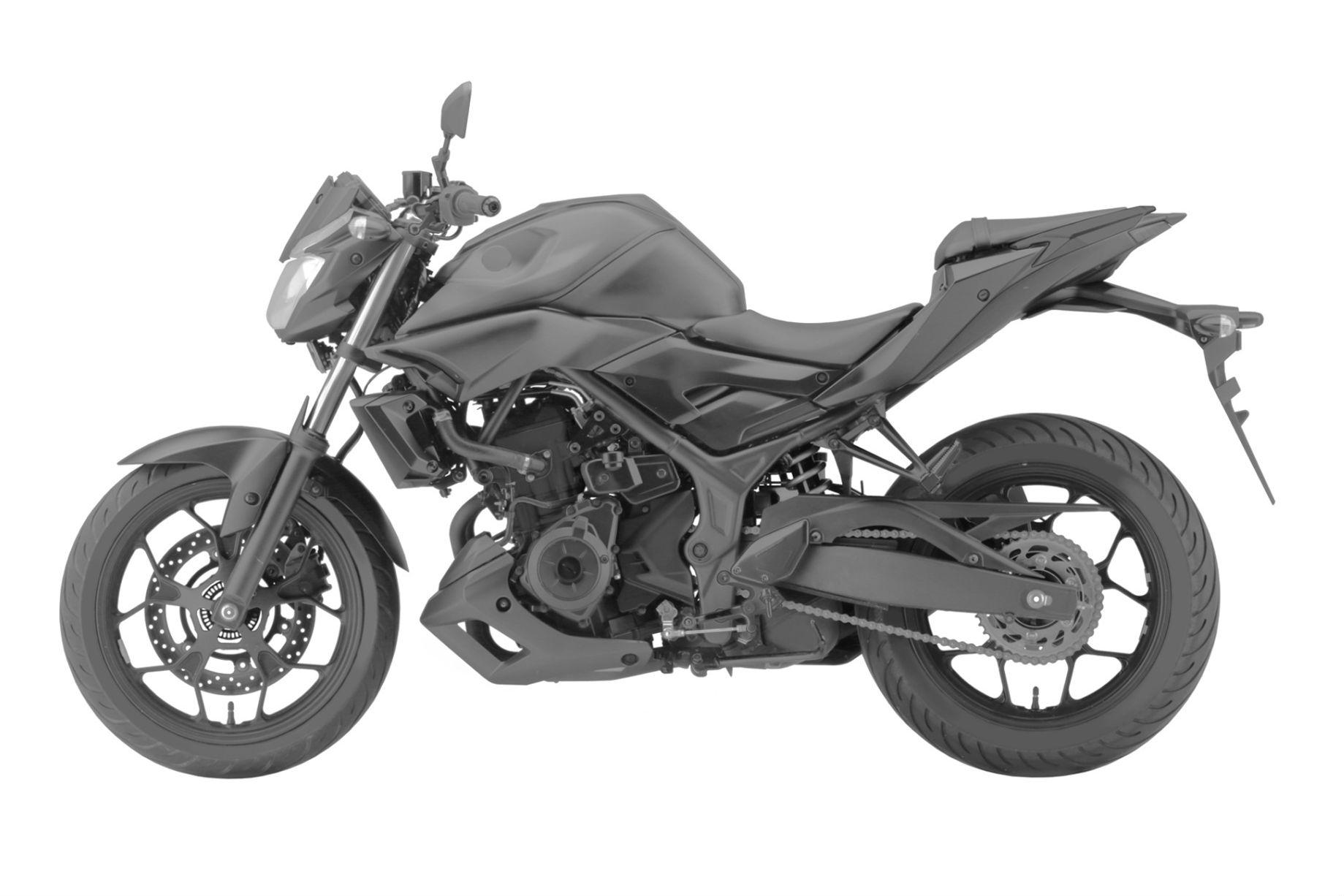 Yamaha MT-03 revealed?