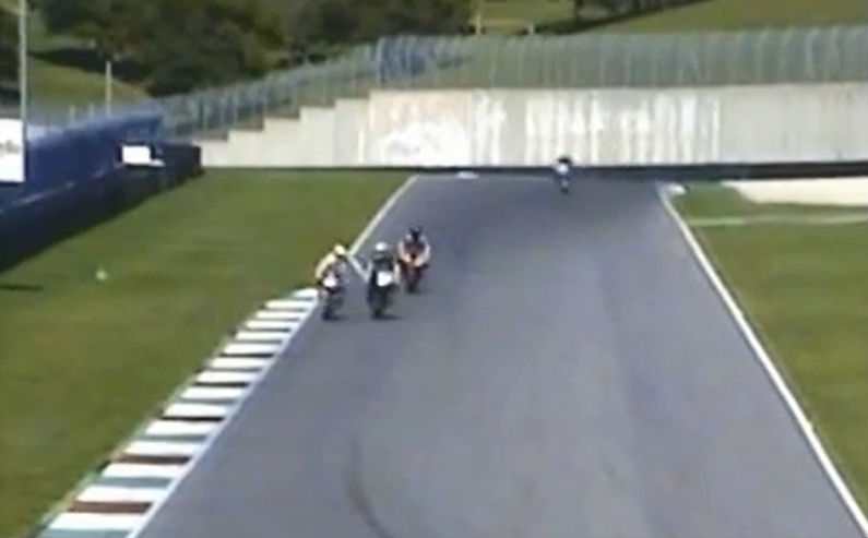 Video: WSBK's Niccolò Canepa allegedly seen hitting another rider's brake lever