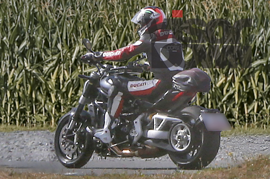 New Ducati Diavel cruiser spotted