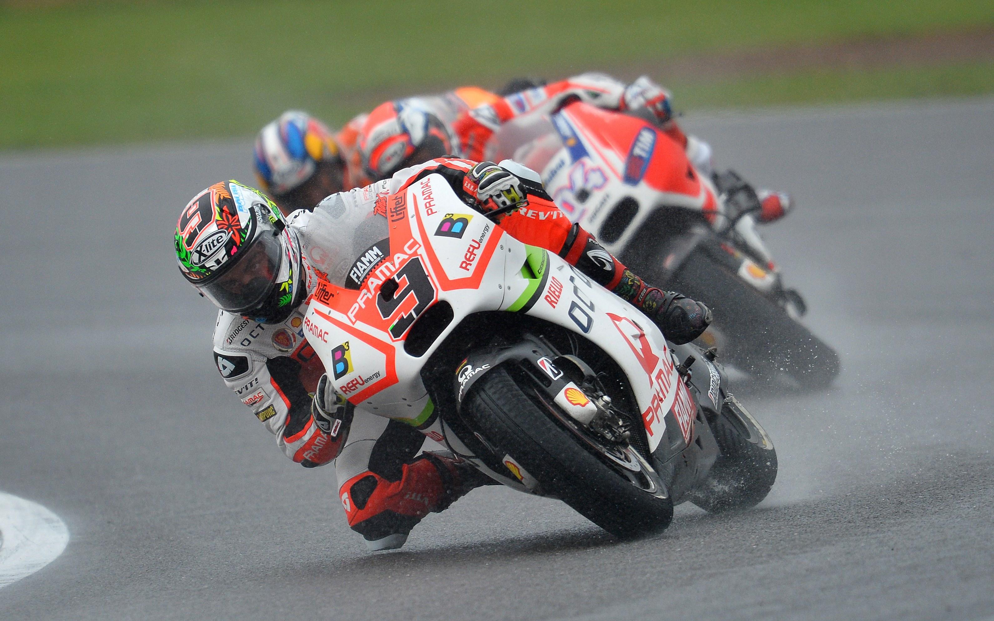 Petrucci scores first MotoGP podium