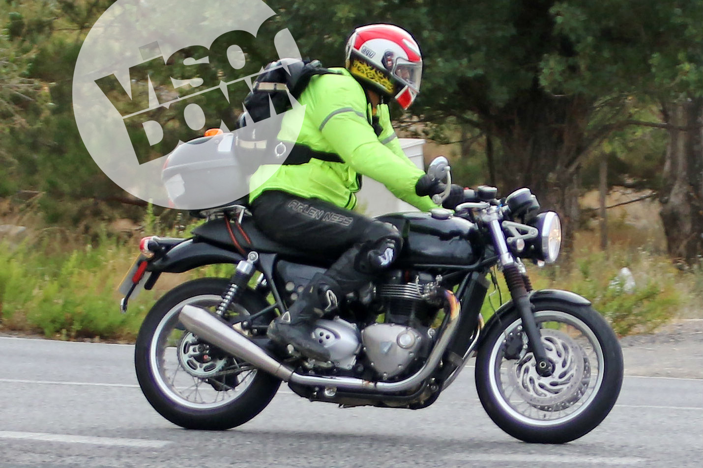Three new Triumph Bonnevilles spotted