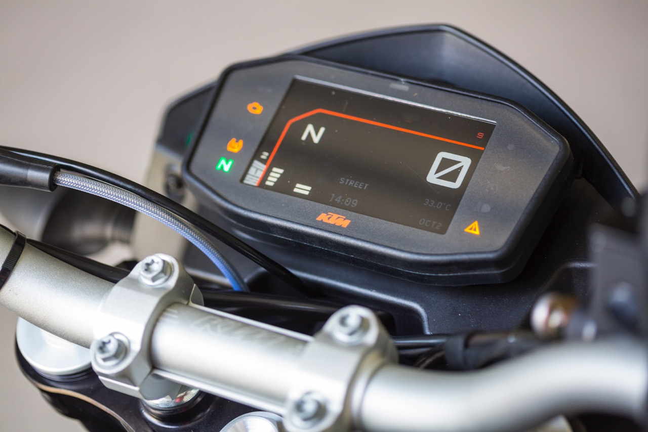 KTM reveals pictures and details of upgraded 690 Duke (but only to favoured bike mags)