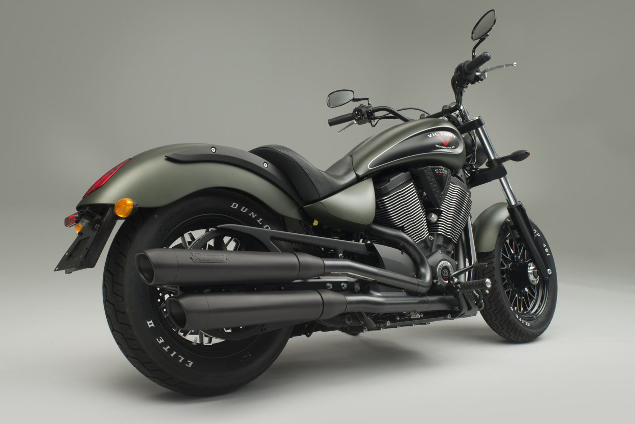 Victory chooses Akrapovic as official aftermarket exhaust supplier
