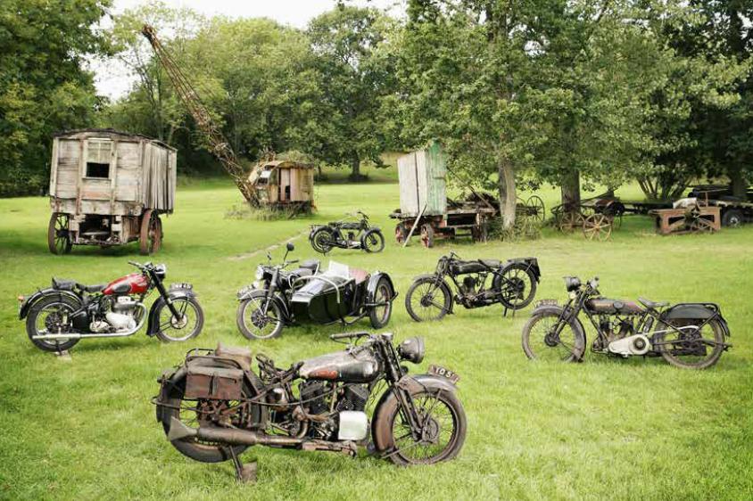 Barn-find British classics up for sale