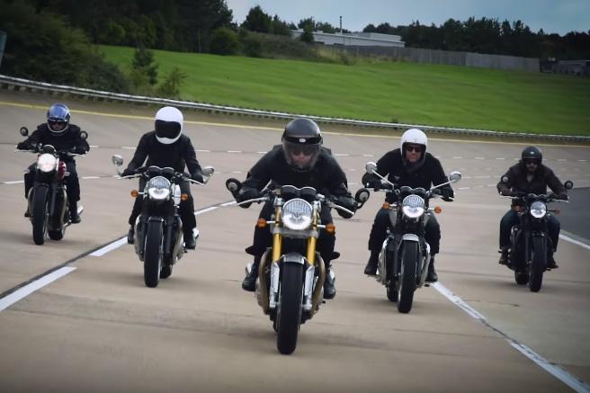 Triumph's Bonneville promo video