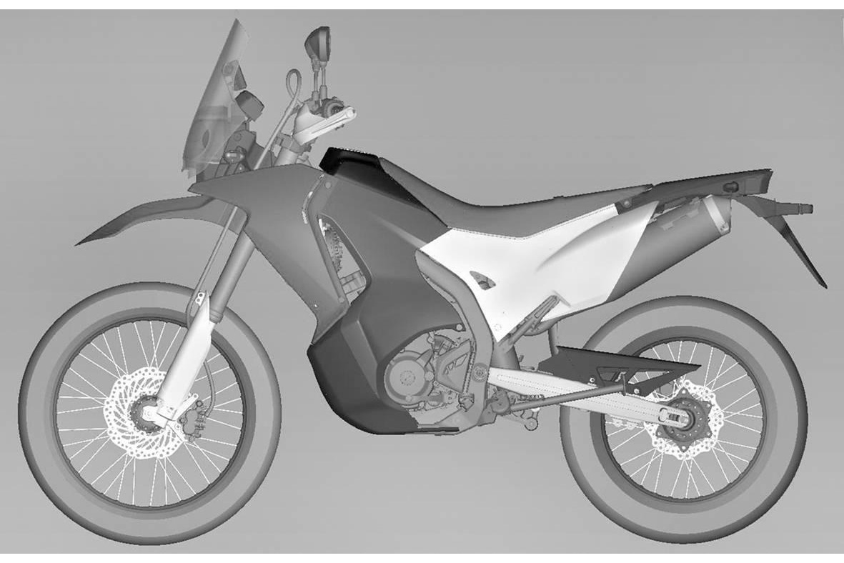 Honda's CRF250 Rally is heading for production