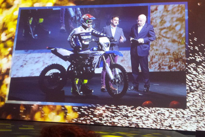 New Yamaha WR 450F