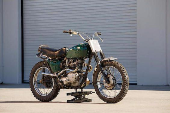 McQueen's and Knievel's bikes up for auction