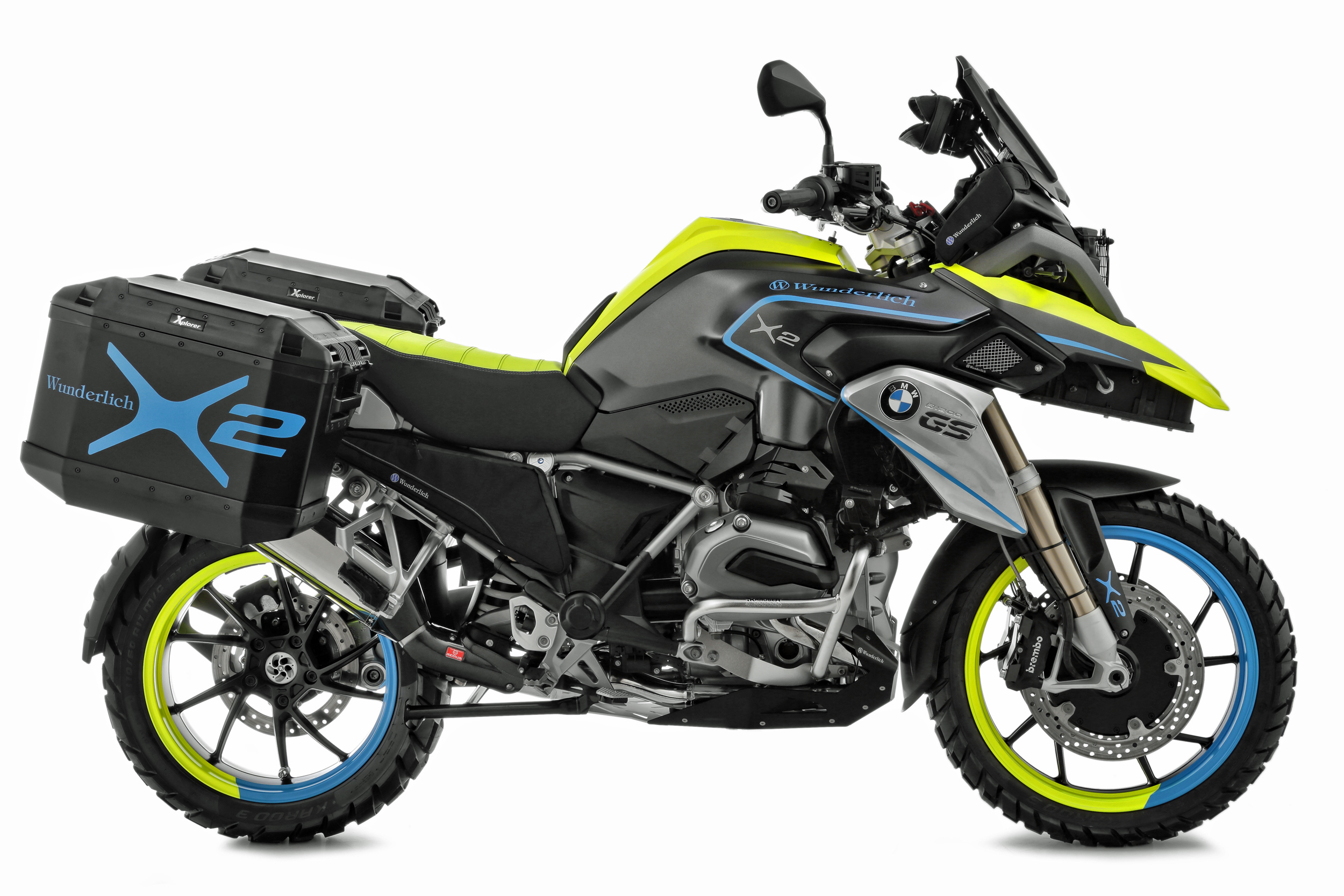 The two-wheel-drive R1200GS