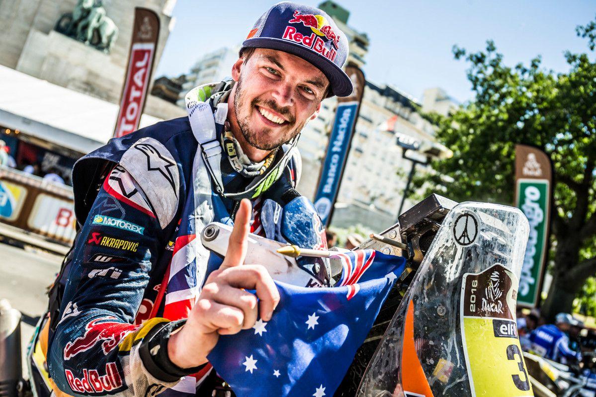 Toby Price wins 2016 Dakar rally