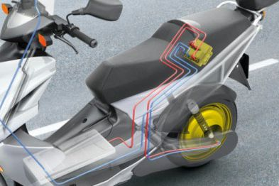 Bosch announces new ABS system and electric hub scooter motor