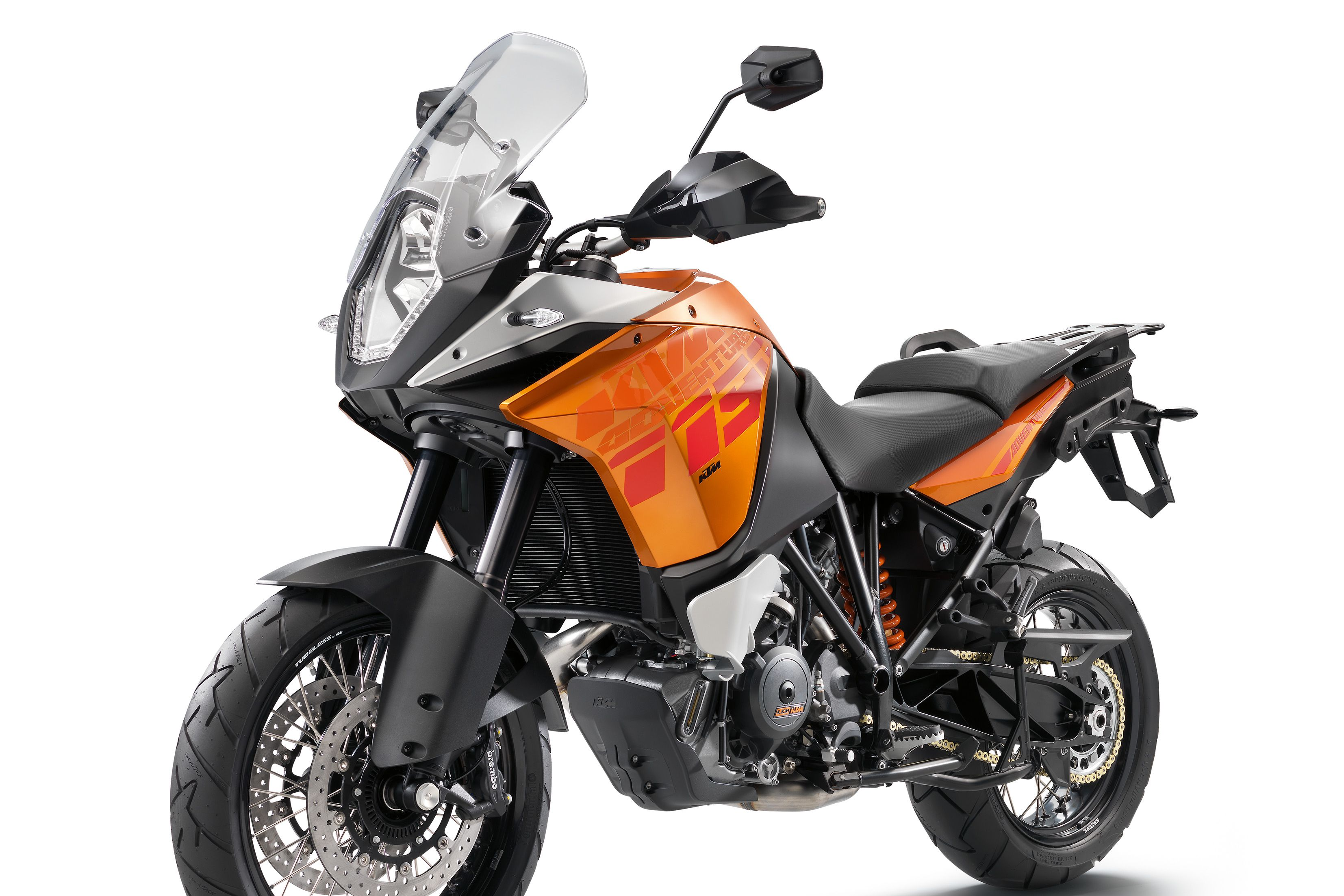 Updated KTM 1190 Adventure spotted on test
