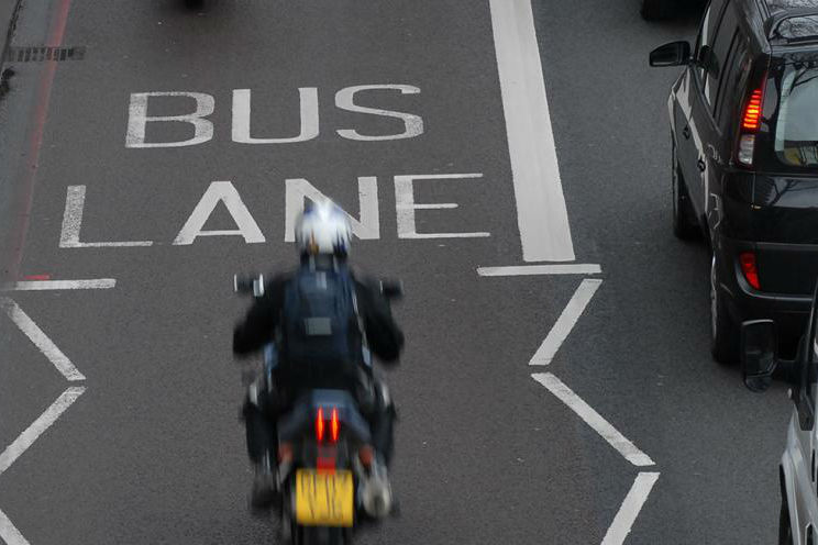 Open all London bus lanes to motorcyclists, says report